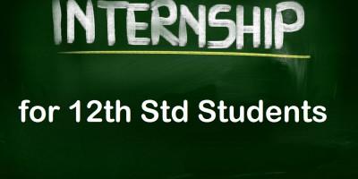 Internship opportunities for 12th passout